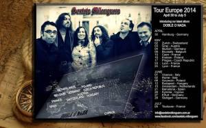 Sexteto Milonguero Tour 2014